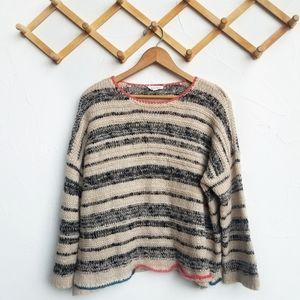 Hem & Thread Striped Sweater